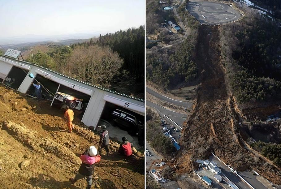 Землетрус в Японії знищив культовий дрифт-трек Ebisu Circuit: фото наслідків