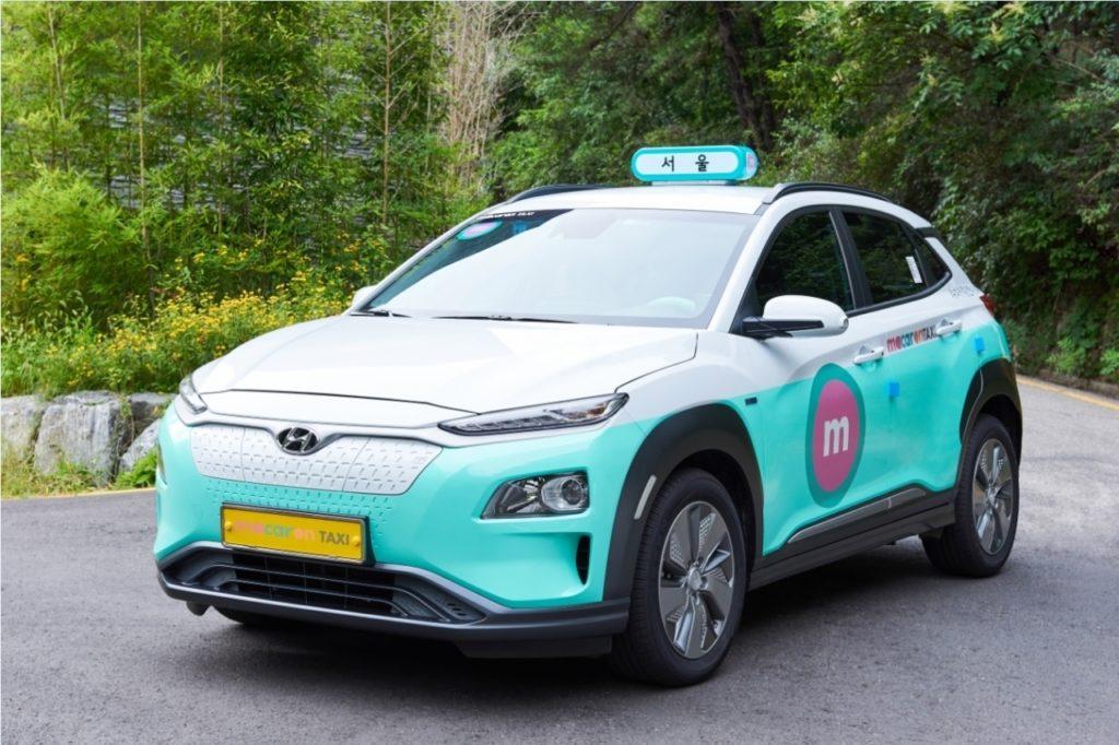 Інновації по-корейськи: служба таксі придбає електромобілі, а батареї до них візьме у лізинг
