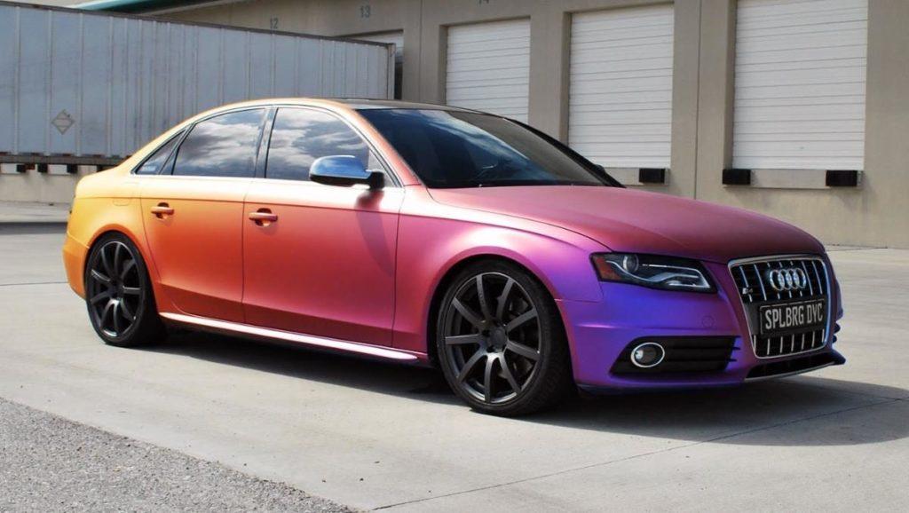 Відео дня: блогери нанесли на автомобіль термочутливу фарбу – що з цього вийшло