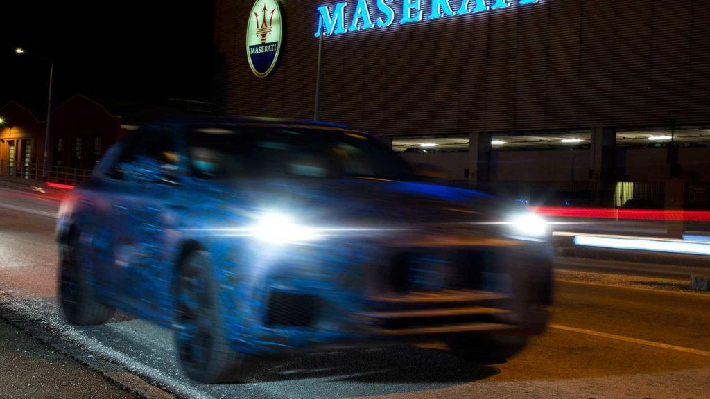 Перший електромобіль Maserati буде кросовером: опубліковано тизер