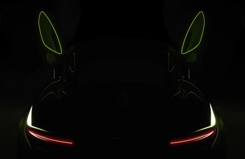 McLaren заінтригував новим тизером майбутнього гібрида Artura: відео