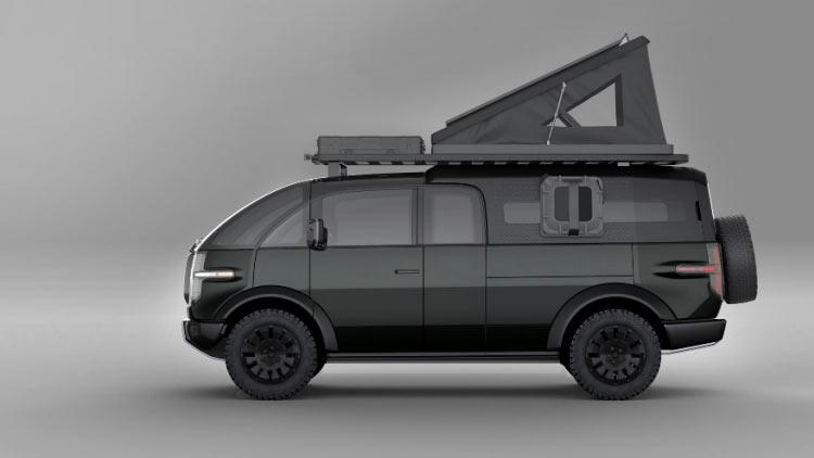 Canoo представила «іграшковий» електричний пікап з запасом ходу 320 км
