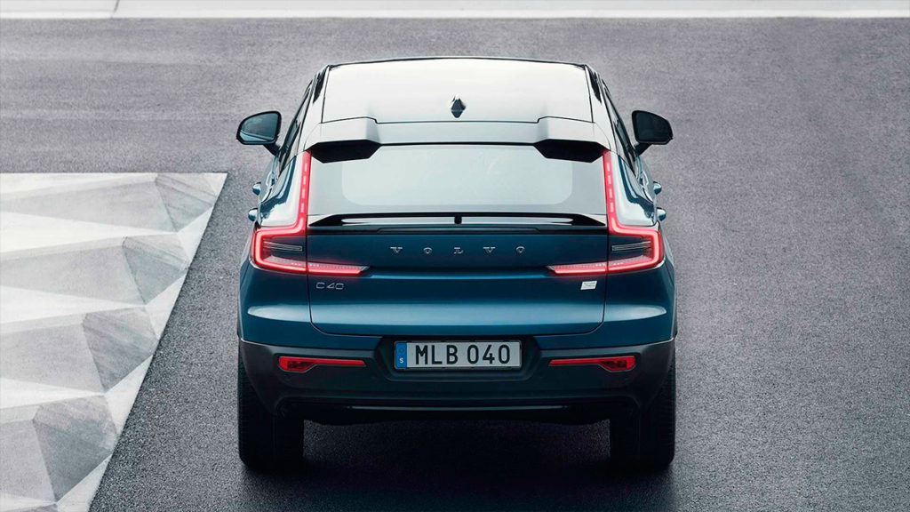 Крос-купе Volvo C40 Recharge: все про другий електромобіль марки
