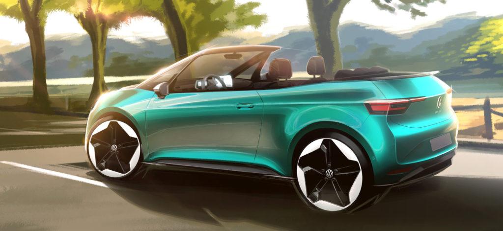 Volkswagen випустить електричний кабріолет: з