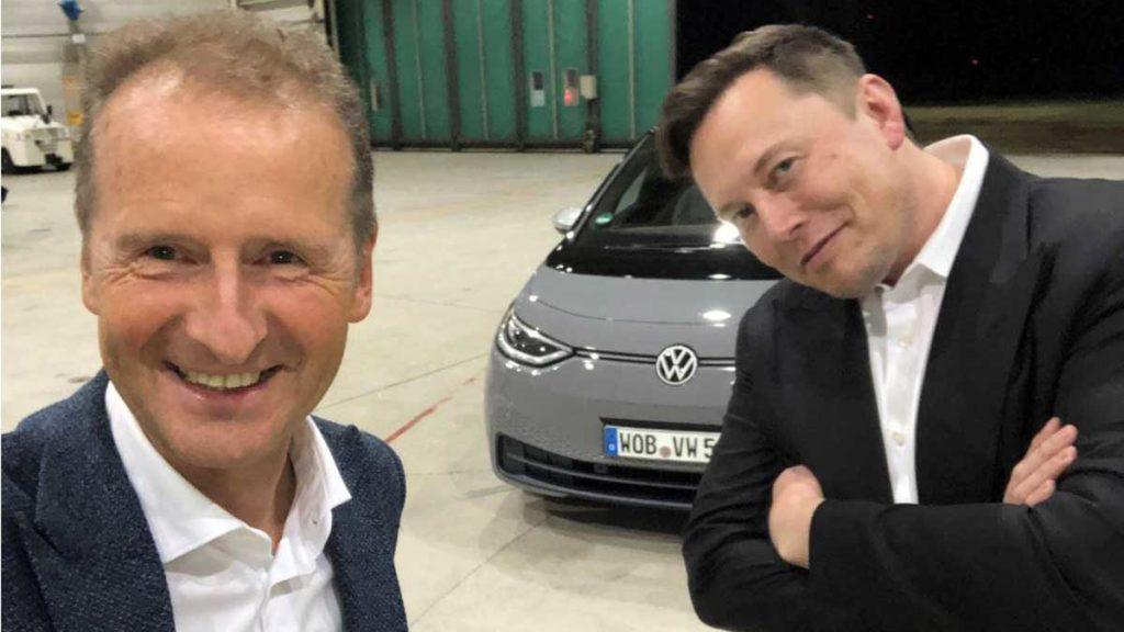 Воднемобілі не на часі: думка керівників Tesla та Volkswagen