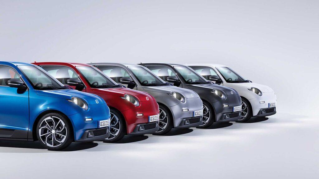 Дешеві німецькі електромобілі e.Go почнуть виробляти в Мексиці