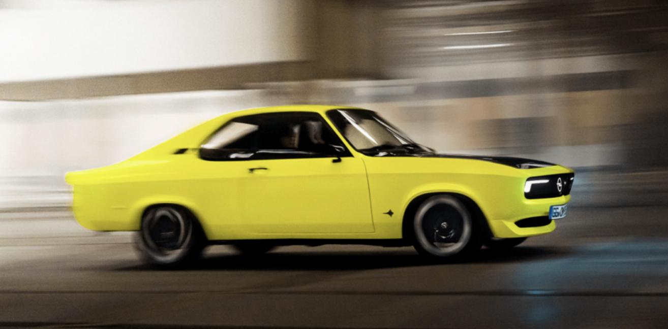 Електричне спорткупе Opel Mantra нашпигували технологіями та випустили в єдиному екземплярі