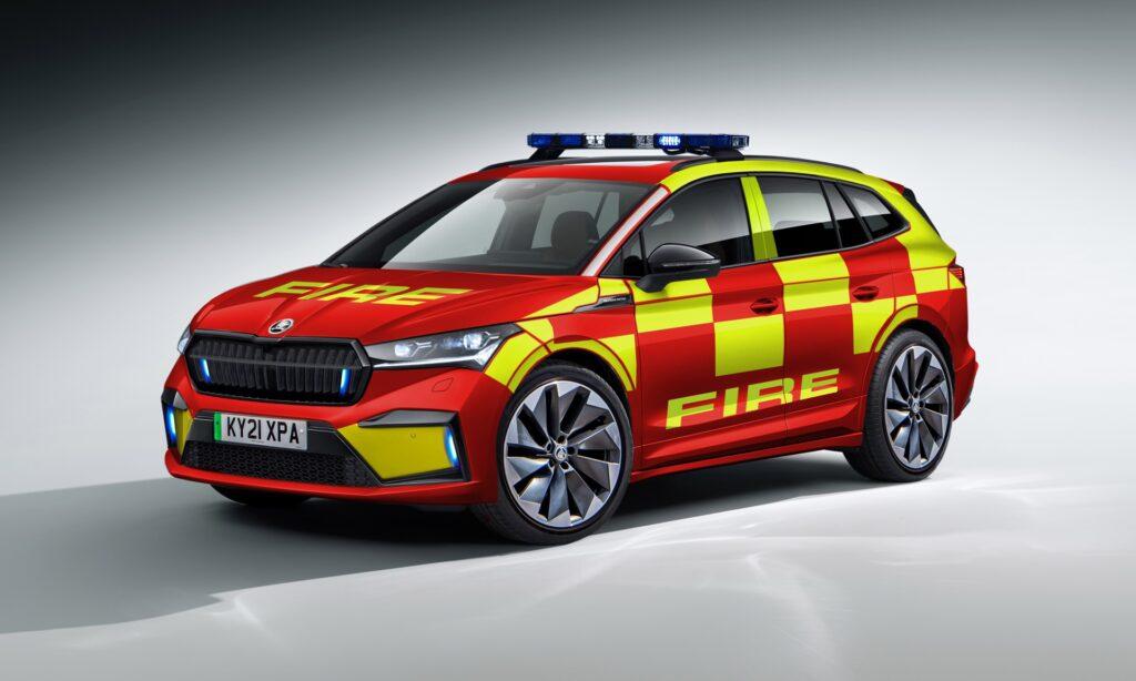 Skoda випускатиме автівки екстрених служб на базі електрокросовера Enyaq iV