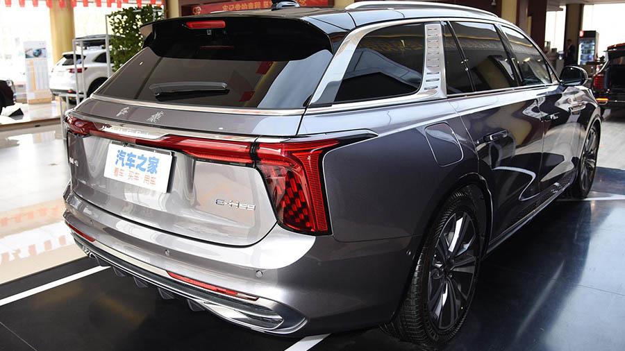 Схожий на Rolls-Royce: китайський електричний кросовер Hongqi e-HS9 почали продавати в Європі