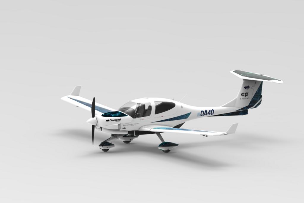 Відмовляться від дизеля: компанії Diamond Aircraft та Electric Power Systems випустять електричний літак eDA40