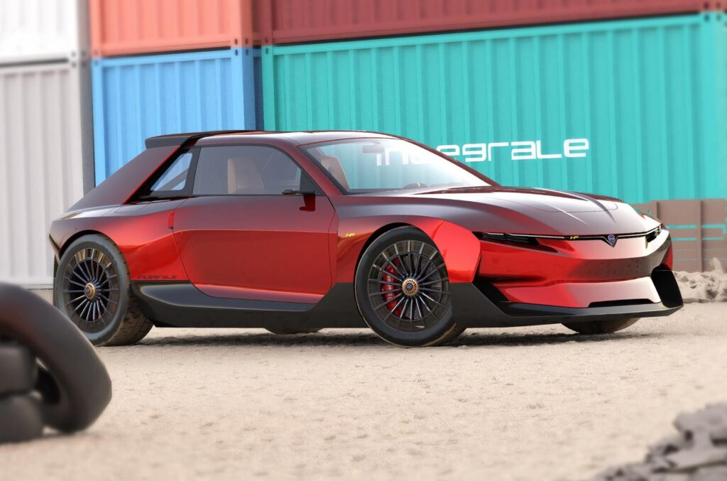 Культовий ралійний хетчбек Lancia Delta повернеться на ринок у вигляді електромобіля