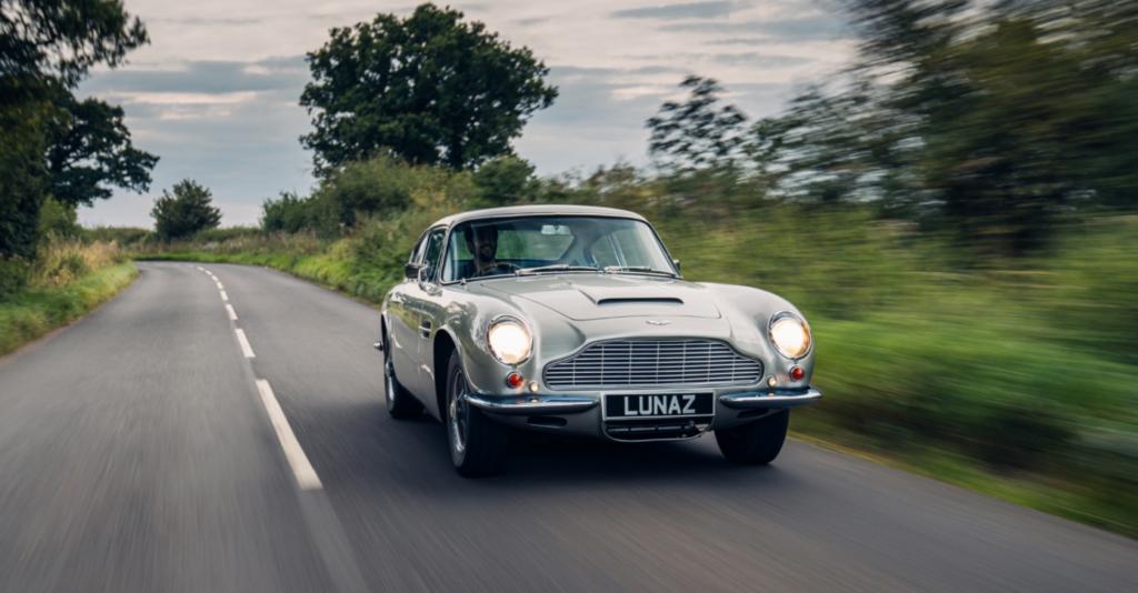 Aston Martin DB6 за мільйон доларів: культовий автомобіль перевели на електротягу